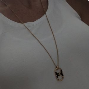 Tory Burch Gold Necklace NWOT
